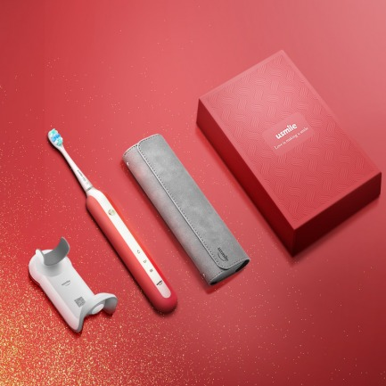 U1要你红限量版电动牙刷 | 充电3小时刷牙6个月