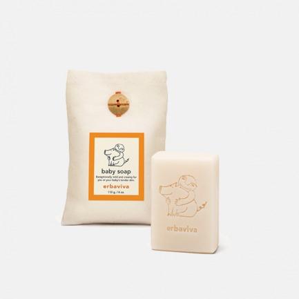 天然宝宝润肤皂 110g | 纯天然精油精油配方