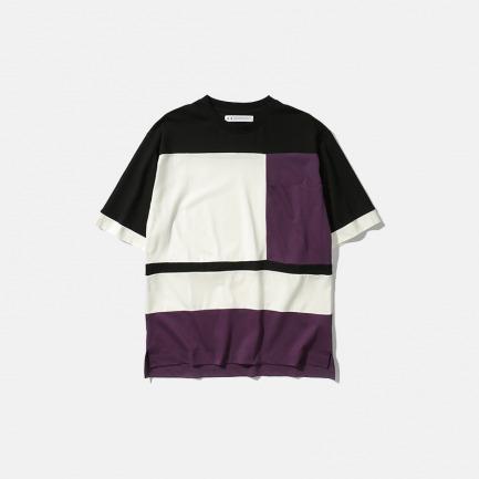色块拼接半袖T恤 | 新款Maze系列新卫设计