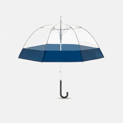 海军蓝直柄鸟笼伞【西雅图】 | 都市元素提炼 透明伞面尽享美式情调