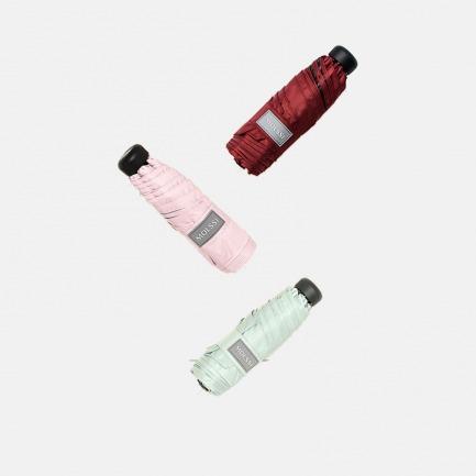 纯色五折黑胶伞【三色可选】 | 防晒UPF50+ 可放进口袋的迷你伞