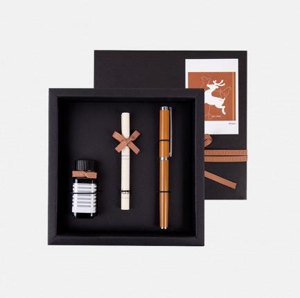 自然记录系列-钢笔墨水礼盒 | 时髦优雅的书写【三色】