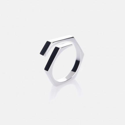 螺母戒指-刘诗诗同款 | 925银镀18k黄金、白金