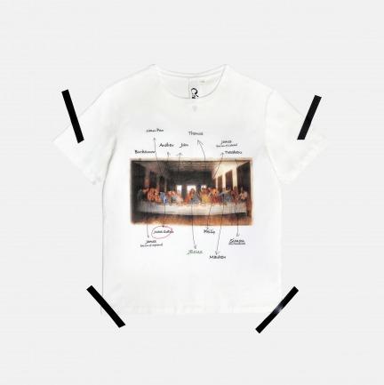 男士最后的晚餐T恤 | 原创设计师品牌 柔软不变形