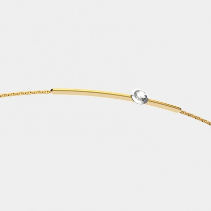 18k金 贝利珠钻石手链 | 明星同款 设计精致