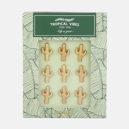 造型图钉 北欧绿植主题 | 仙人掌/树叶/火烈鸟 三款图案可选