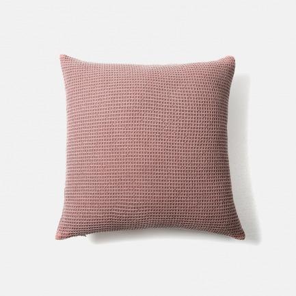 冰淇淋色 纯棉抱枕套  | 舒适华夫格纹理 4色可选