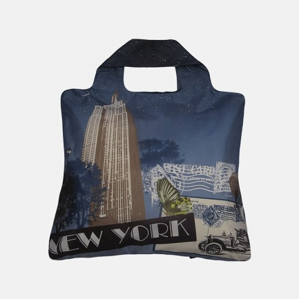 众明星同款的时尚环保袋   小如春卷 超大容量