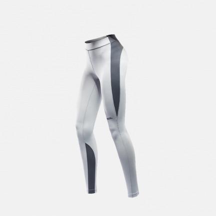女子运动紧身裤 浅灰款 | 弹力收腰显瘦 蜜桃臀立显