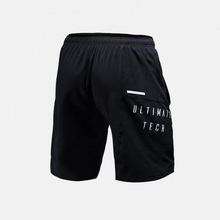 男款梭织运动短裤 曜石黑 | 轻薄透气 畅享运动快感