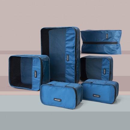 URBAN FOREST旅行衣物收纳套装 | 巴掌大的硅胶包变出收纳袋
