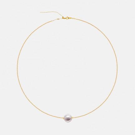日本Akoya珍珠18K金项链 | 单颗珍珠 时尚简约