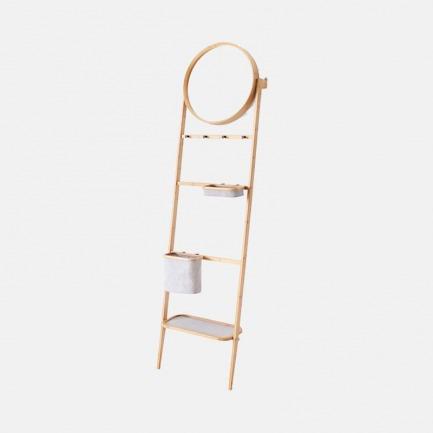 多功能靠墙镜架 简约实用 | 巧妙增加你的家居收纳空间