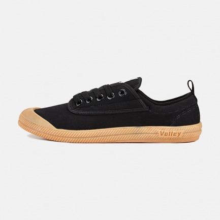 黑色低帮帆布鞋-男款 | 澳大利亚国民运动鞋