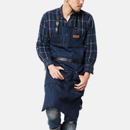限量纪念款复古牛仔围裙 | 下厨也可以时尚又有型