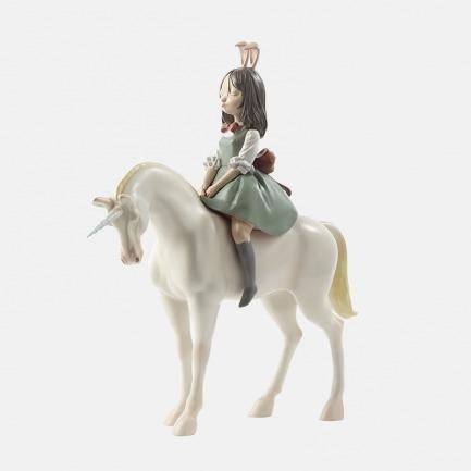 梦马 手工艺术摆件 | 超治愈的白夜童话系列雕塑