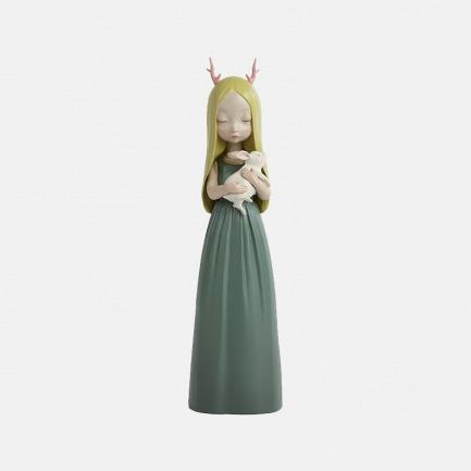 晚安兔 手工艺术摆件 | 超治愈的白夜童话系列雕塑