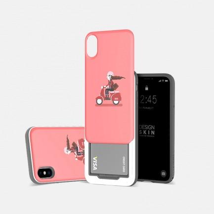 iPhoneX滑盖手机壳 骑车款 | 轻松滑盖 收纳隐藏小物