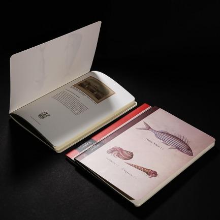 大英博物馆缝线笔记本套装 | 艺术感十足 插画设计