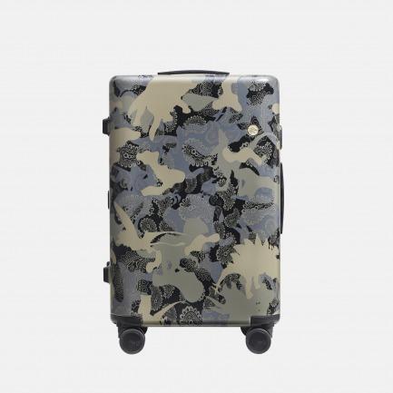 侏罗纪限量款行李箱-迷失   迷彩恐龙印花