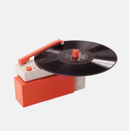 能放黑胶的蓝牙音响-3色 | 年轻人的第一台黑胶唱机