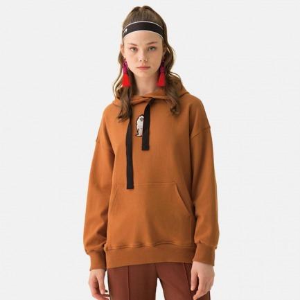 刺绣加绒卫衣-3色 | 原创设计师品牌