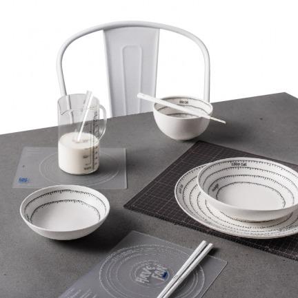 饭量测量系列 趣味盘碗餐具 | 餐桌生活新主张 实用又好看