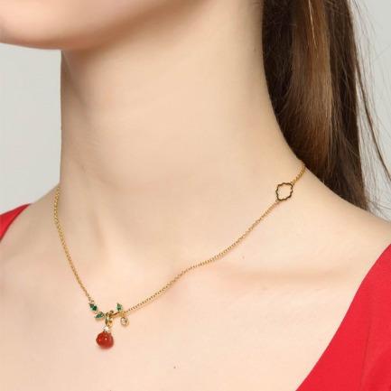 故宫 柿柿如意系列项链  | 将美好寓意戴在身上