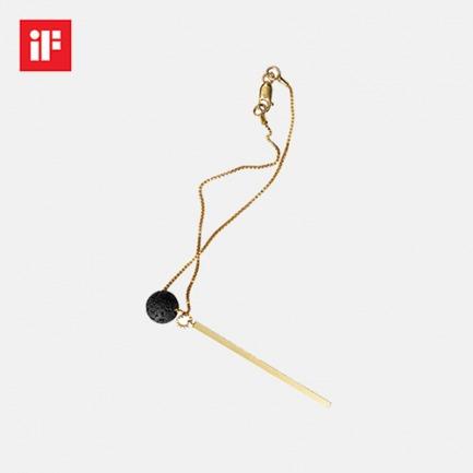 艺术个性的黑洞石手链 | 获德国if红点奖 金条设计