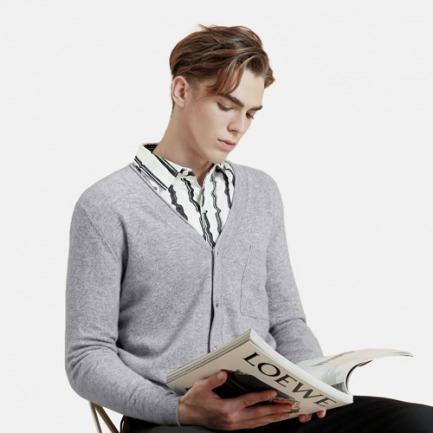 男士学院风 经典款开衫 | 时尚百搭 凸显随性的气质