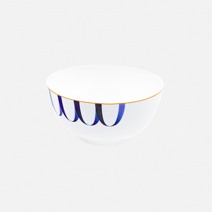 蓝靛系列 优质骨瓷餐碗 | 大小两款可选 优雅纹样