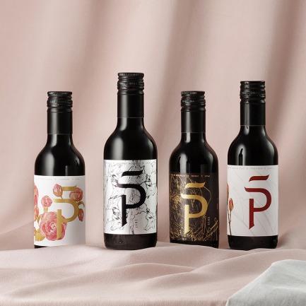 巴洛克礼盒 葡萄酒4瓶装 | 高品质小瓶红酒 怡情又时尚