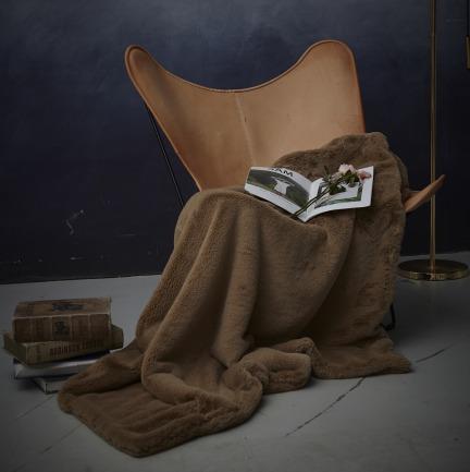像兔毛一样柔软的蓄热毛毯 | 仿佛把阳光披在身上般温暖