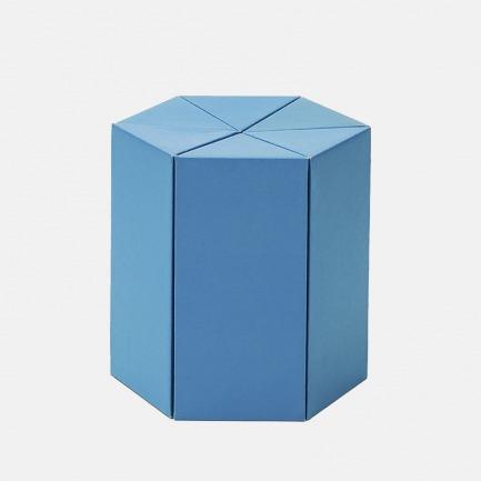 六边形儿童DIY纸板凳 | 轻巧耐用 和孩子动手组装