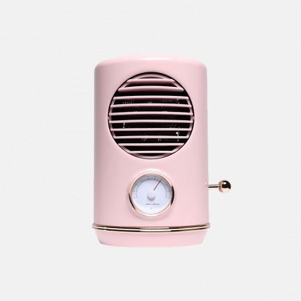 复古暖风机 小巧而温暖 | 3秒即热 冬日加温 安全舒适
