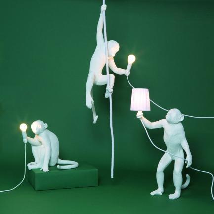 获奖无数的猴子吊灯-3款 | MOMA博物馆收藏的好设计