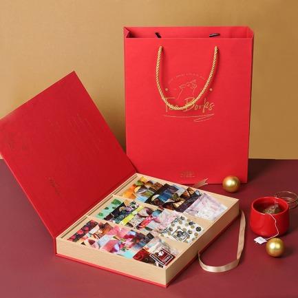 TEA BOOKS年度珍藏花茶礼盒   27款经典独立口味三角茶包