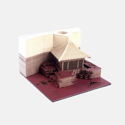撕出一座长城的3D便签 | 美的像件艺术品