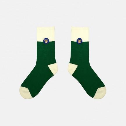 圣诞麋鹿系列加厚纯棉袜子 | 经典的圣诞配色 柔软亲肤