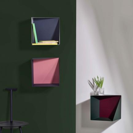 墙面收纳盒 带同色色板 | 挂在墙上的实用艺术品