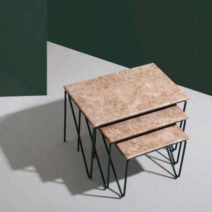 现代客厅咖啡三联桌 | 现代简约风 个性鲜明