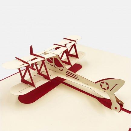 创意礼物哈雷摩托车3D卡 | 美的像件艺术品