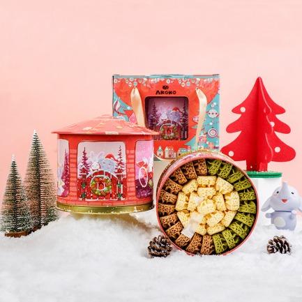 音乐盒里的曲奇雪花酥 | 美食+音乐 超幸福的礼物
