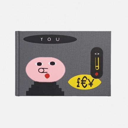 LUCKY小猪精装笔记本 | 原创可爱图案 读写也个性