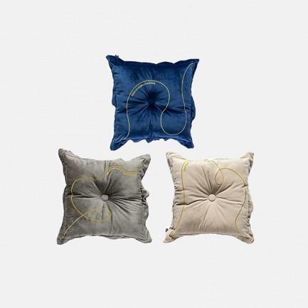 轻奢丝滑加厚丝绒刺绣坐垫 | 北欧INS风家居实用好物