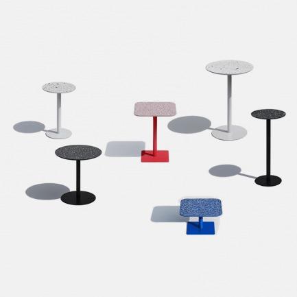 设计师爱的水磨石元素边桌 | 满足多样空间气质 实际用途