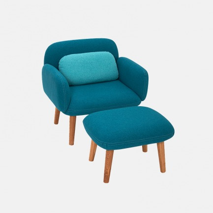 小朋友的豆沙发+脚凳 | 环保、安全、舒适、颜值高