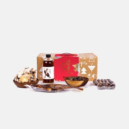 江南味道美食溢言年货礼盒 | 环保轻奢的年货大礼盒