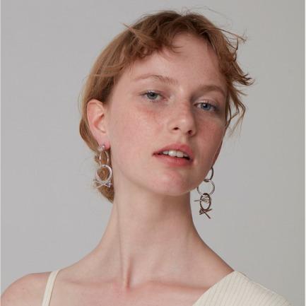 原创设计 叮叮当当耳环 | 让耳饰点亮你的美 银镀18k