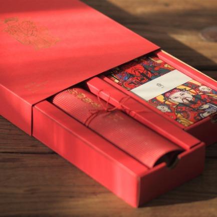 年礼2019典藏版套装 | 门神、春联、春字、福字、红包、吉祥贴